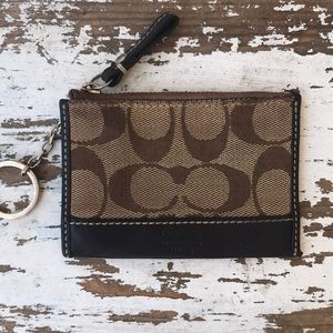 Coach Keychain or Business Card Holder